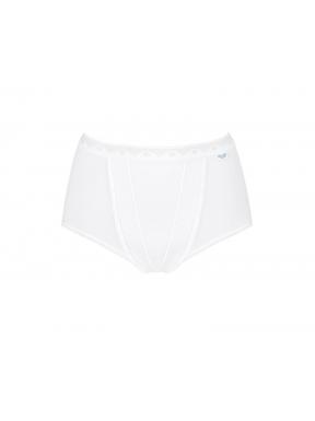 SLOGGI CONTROL MAXI - białe majtki damskie