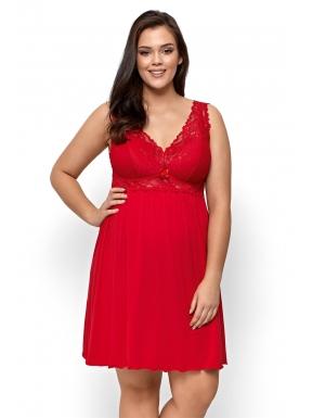 Nipplex Bona Big koszulka nocna - czerwona
